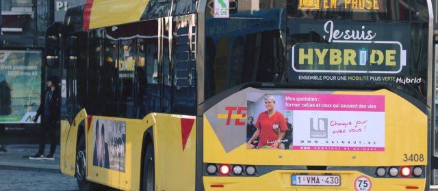 La Province de Hainaut s'affiche !
